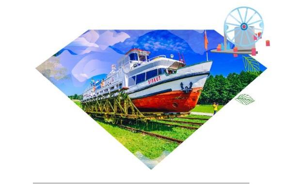Ilustracja do informacji: Szlak Kulturowy Kanału Elbląskiego