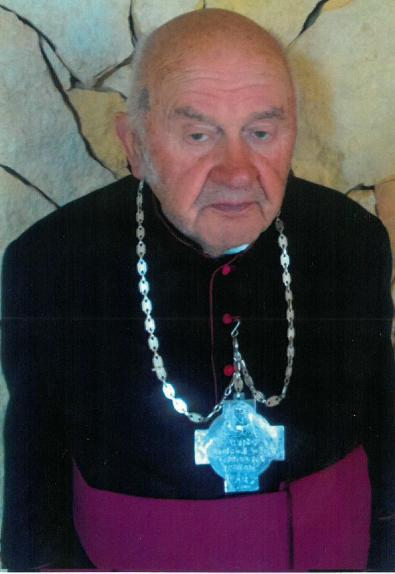 Ilustracja do informacji: Odszedł Honorowy Obywatel Gminy Elbląg - ksiądz Bogdan Ryszard Rusinowski