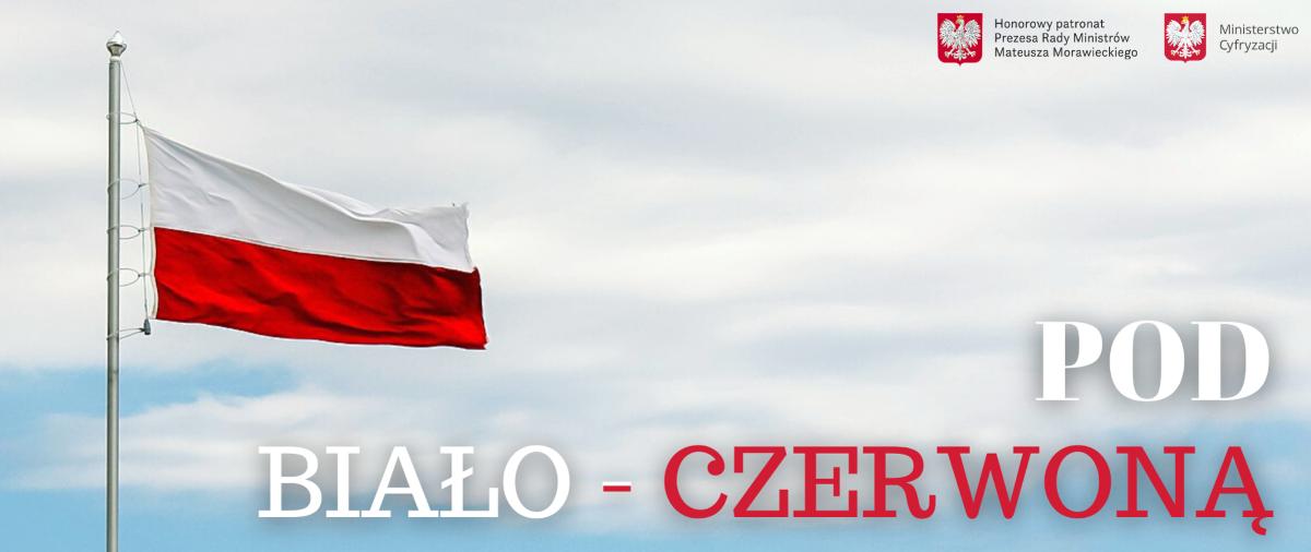"""Ilustracja do informacji: """"Pod biało-czerwoną"""" – zapraszamy do udziału w akcji!"""