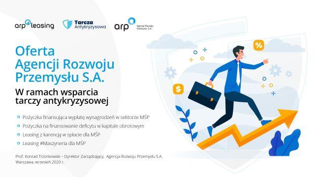 Ilustracja do informacji: Tarcza Antykryzysowa dla Przedsiębiorców